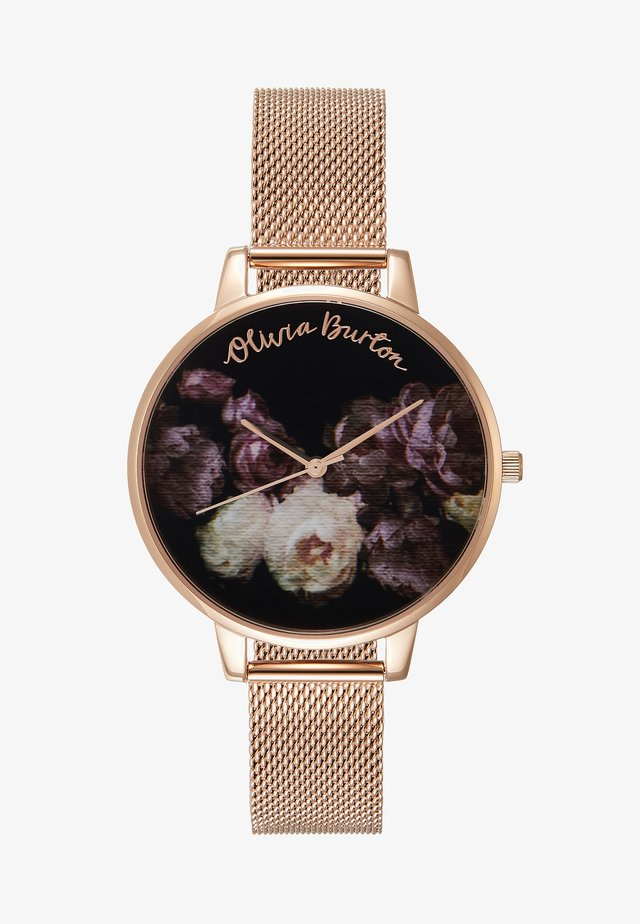 FINE ART - Uhr - roségold-coloured
