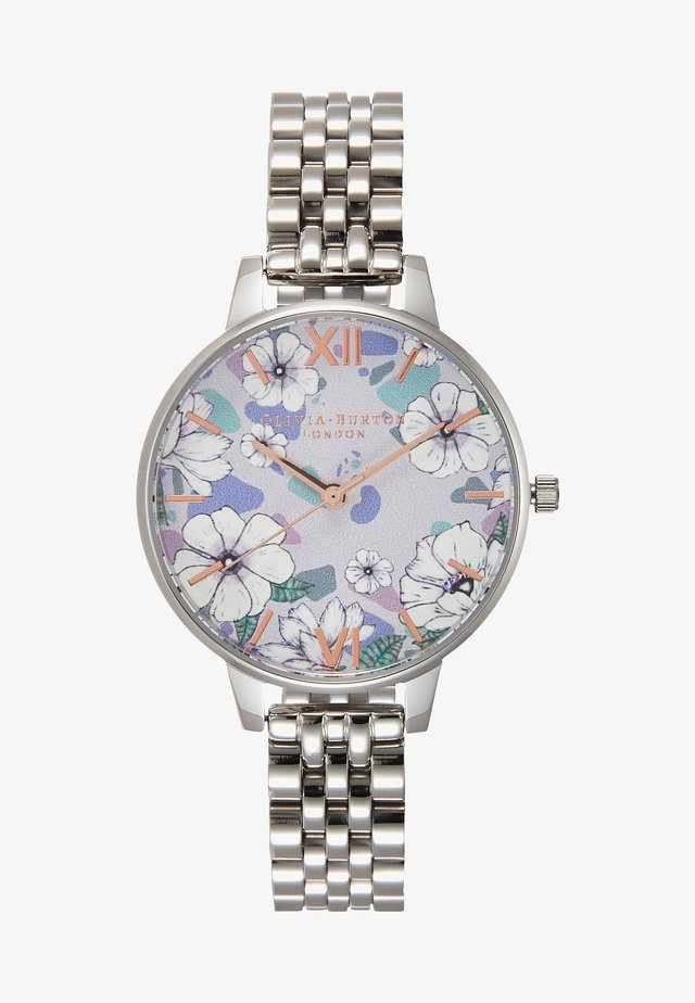 GROOVY BLOOMS - Uhr - silver-coloured