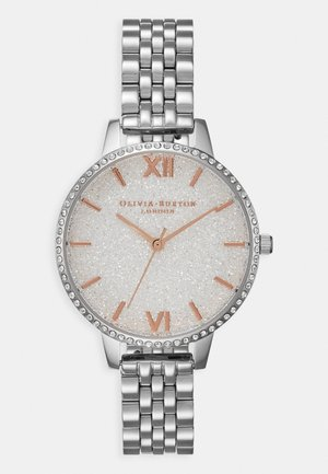 GLITTER DIAL - Hodinky - silver-coloured