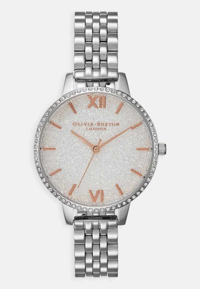 GLITTER DIAL - Uhr - silver-coloured