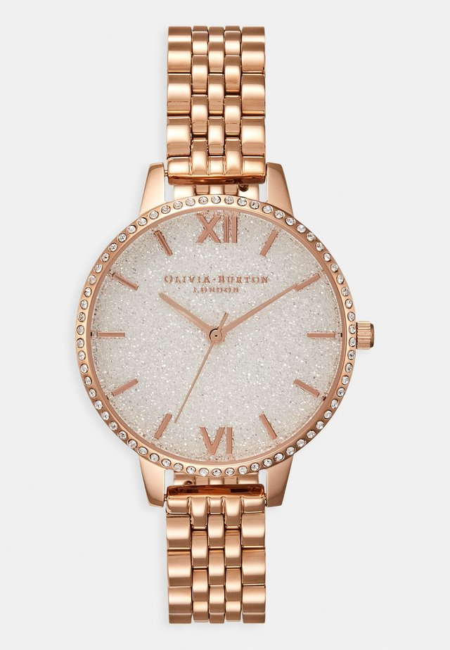 GLITTER DIAL - Uhr - roségold-coloured