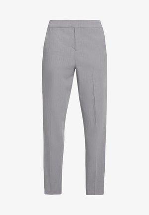 OBJCECILIE 7/8 PANTS - Broek - medium grey melange
