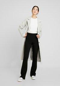 Object Tall - OBJNICKY LONG PANT - Pantaloni - black - 1