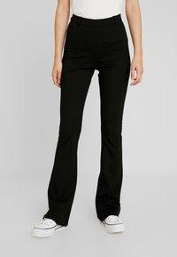Object Tall - OBJNICKY LONG PANT - Pantaloni - black - 0