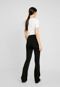 Object Tall - OBJNICKY LONG PANT - Pantaloni - black - 2