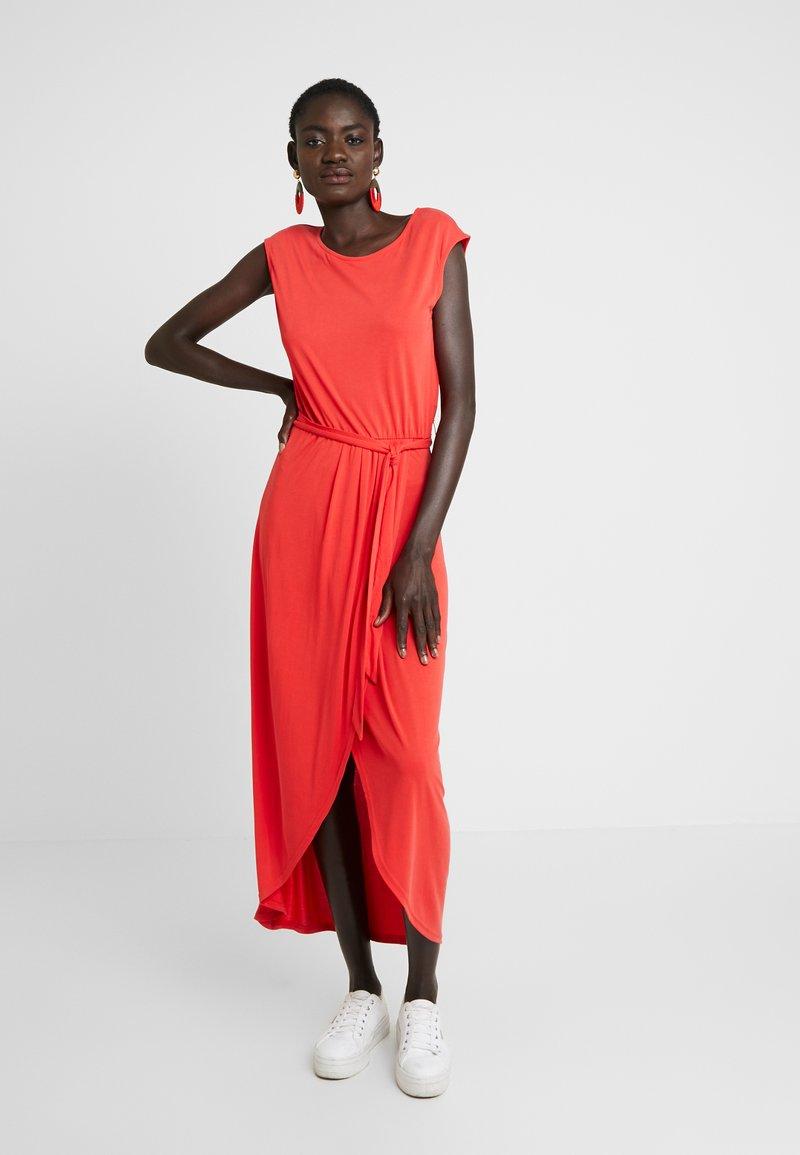 Object Tall - OBJNADIA DRESS - Maxiklänning - poppy red