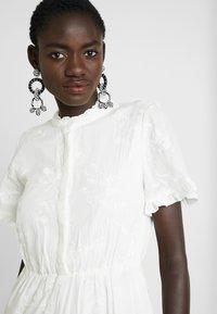 Object Tall - OBJFOILA DRESS - Day dress - gardenia - 4