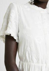 Object Tall - OBJFOILA DRESS - Day dress - gardenia - 6