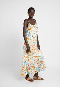 Object Tall - OBJGIOVANNA STRAP DRESS - Maxi-jurk - gardenia/multicolor - 1