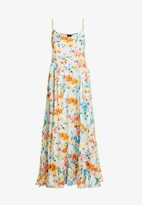 Object Tall - OBJGIOVANNA STRAP DRESS - Maxi-jurk - gardenia/multicolor - 4