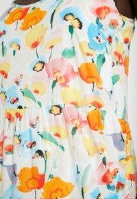 Object Tall - OBJGIOVANNA STRAP DRESS - Maxi-jurk - gardenia/multicolor - 5