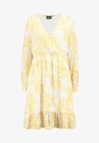 Object Tall - OBJVITA DRESS - Robe d'été - gardenia/yellow - 5