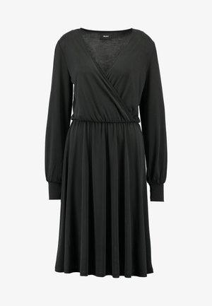 OBJSANDY NADIA DRESS - Jerseyjurk - black
