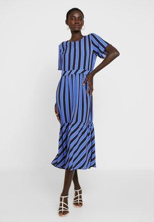 OBJLIA TESS DRESS - Hverdagskjoler - baja blue