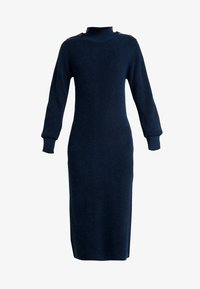 Object Tall - OBJJANEY DRESS - Gebreide jurk - sky captain - 3