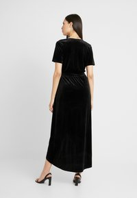 Object Tall - OBJHONEY NOREENA DRESS - Maxi šaty - black - 2