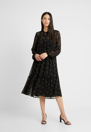 OBJAVINAJA DRESS - Freizeitkleid - black