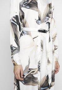 Object Tall - OBJPANIA AMELIA SHIRT DRESS - Paitamekko - off-white - 5