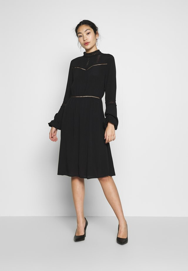 OBJSIFKA DRESS - Kjole - black