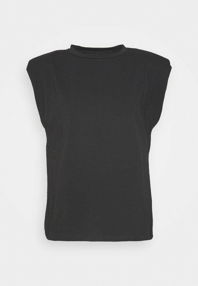 OBJJEANETTE   - T-shirt print - black