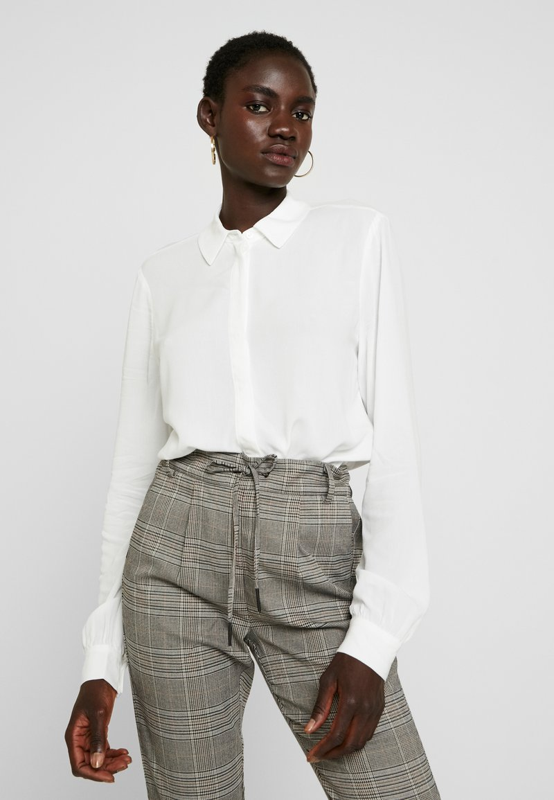 Object Tall - OBJBAY - Button-down blouse - white