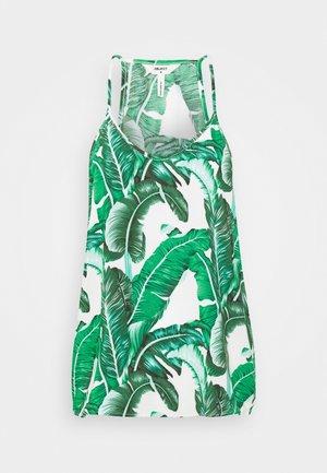 OBJPALMINA SINGLET - Bluse - gardenia