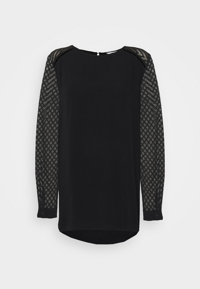 OBJZOE TOP - Blouse - black