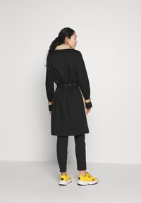Object Tall - OBJKUNA JACKET - Gabardina - incense/black - 2