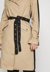 Object Tall - OBJKUNA JACKET - Gabardina - incense/black - 4
