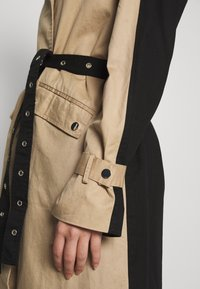 Object Tall - OBJKUNA JACKET - Gabardina - incense/black