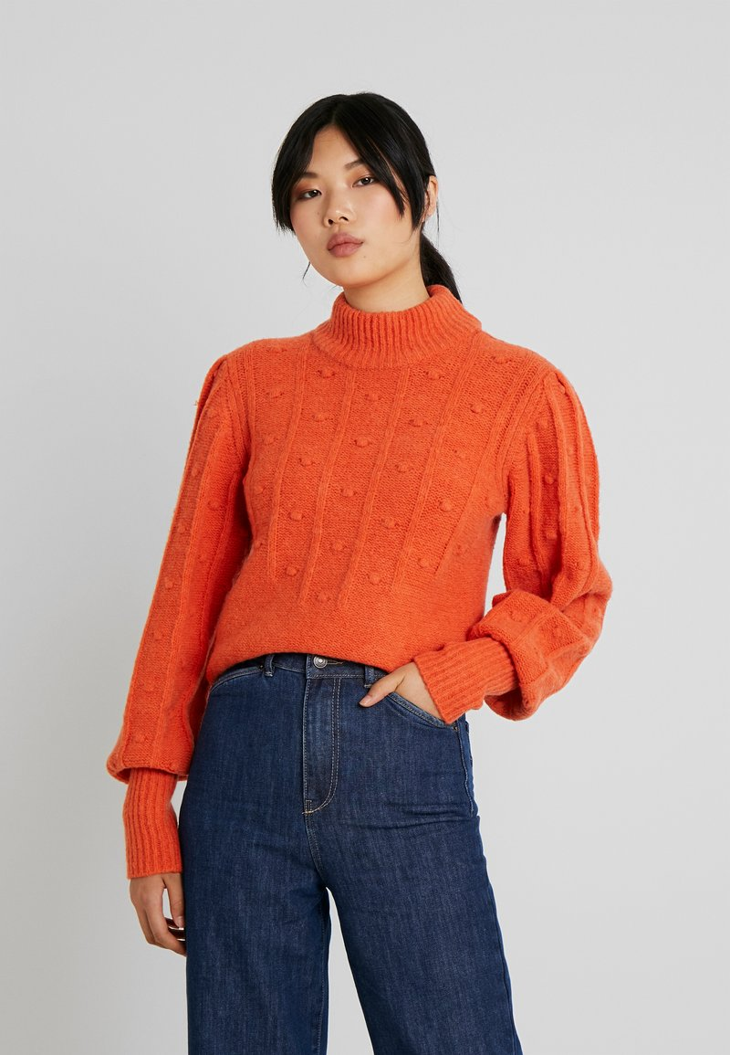 Object Tall - OBJFAY - Pullover - tigerlily