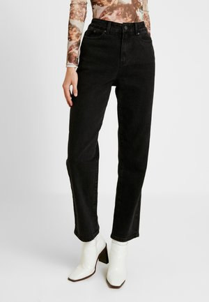 OBJMOJI - Jeans relaxed fit - black