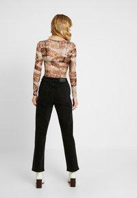 Object Tall - OBJMOJI - Relaxed fit jeans - black - 2