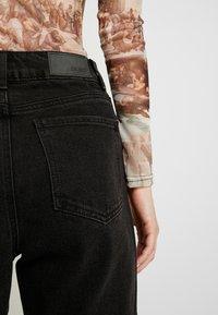 Object Tall - OBJMOJI - Relaxed fit jeans - black - 5