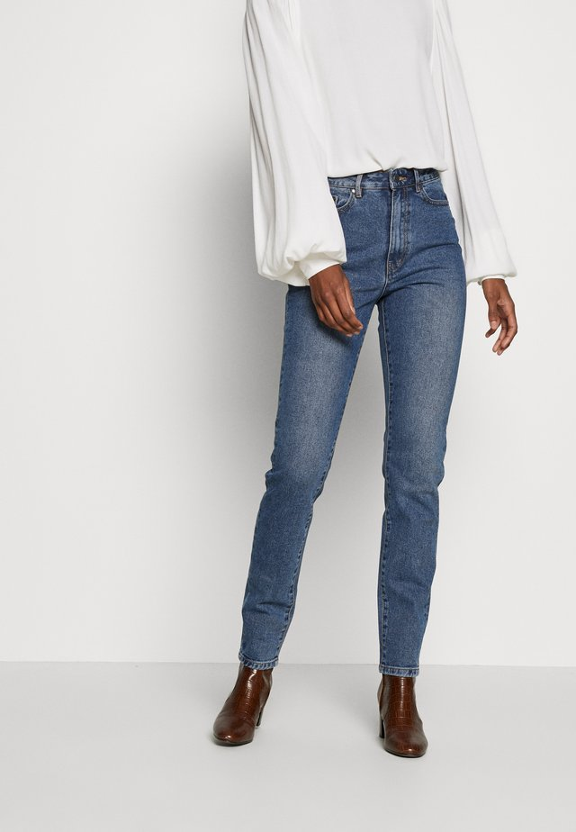 HANNAH  - Jean slim - medium blue denim