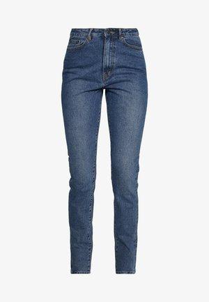 HANNAH  - Jean slim - medium blue denim