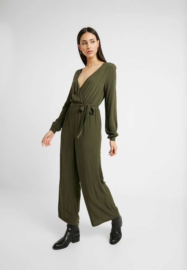 OBJTRIBBIANI - Tuta jumpsuit - forest night