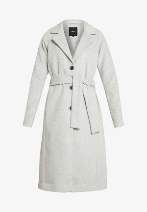 OBJLENA COAT - Zimní kabát - light grey melange