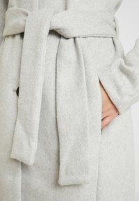 Object Tall - OBJLENA COAT - Płaszcz wełniany /Płaszcz klasyczny - light grey melange - 5