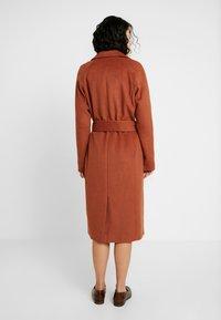 Object Tall - OBJLENA COAT - Zimní kabát - brown patina - 2