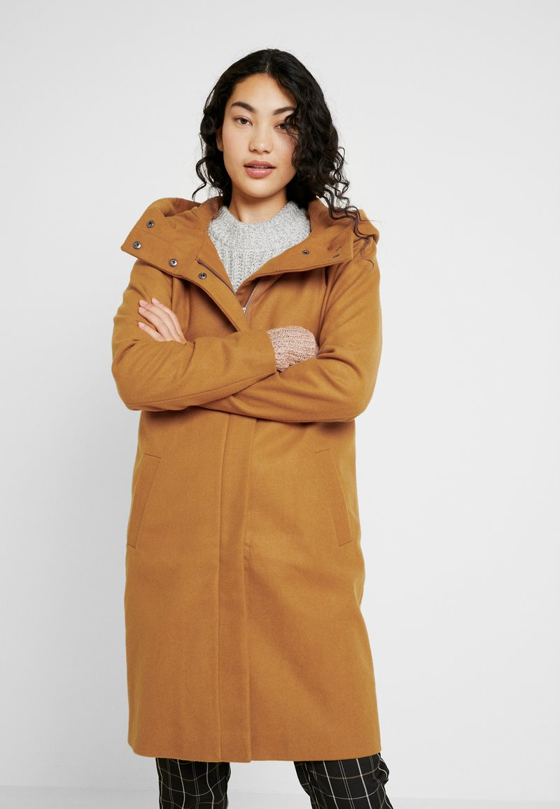 Object Tall - OBJSUSAN COAT - Classic coat - buckthorn brown