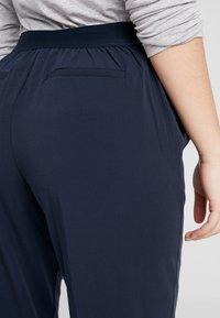 Object Petite - OBJCECILIE 7/8 PANTS - Pantalones - sky captain - 5