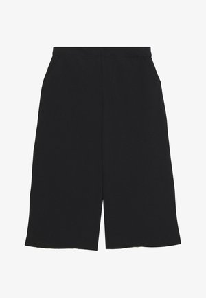 CULOTTE PANTS PETITE - Szorty - black
