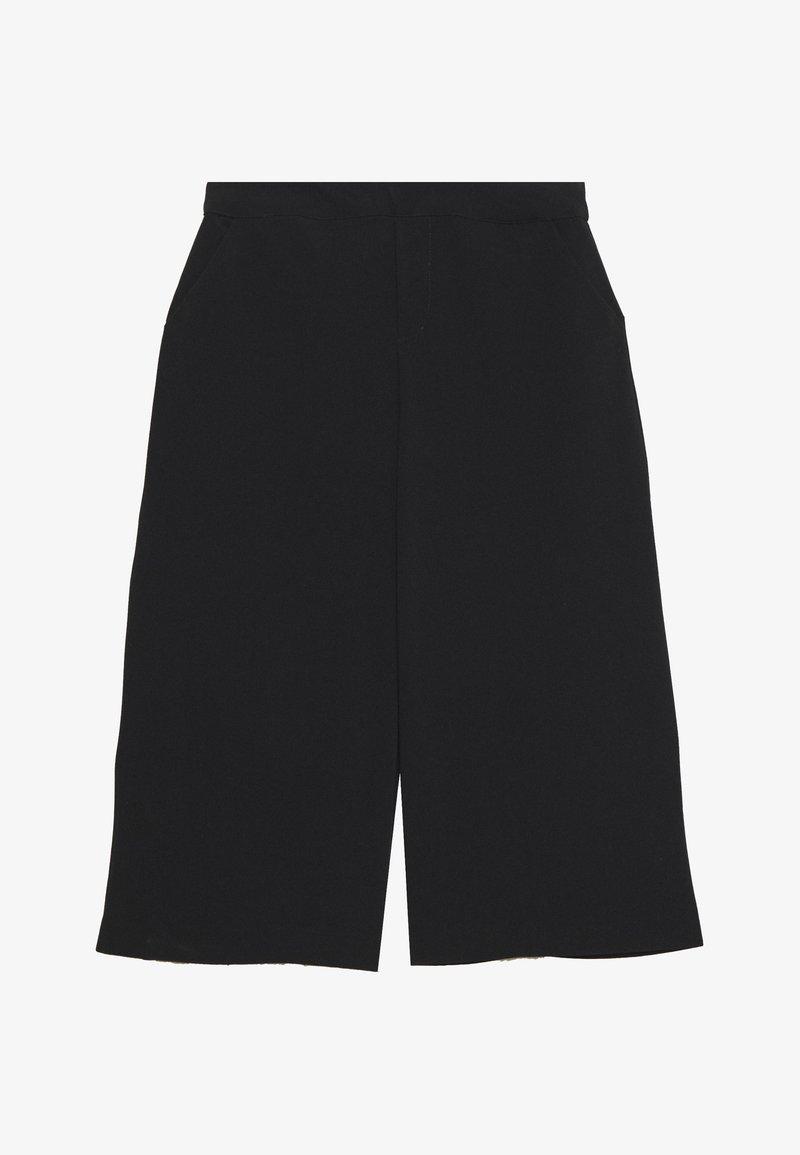 Object Petite - CULOTTE PANTS PETITE - Shorts - black