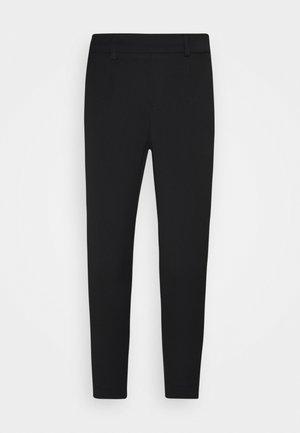 OBJLISA SLIM PANT - Bukse - black