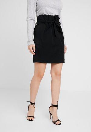 OBJLISA ABELLA MINI SKIRT - Minifalda - black