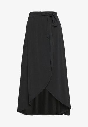 OBJANNIE SKIRT PETIT - Maxi skirt - black