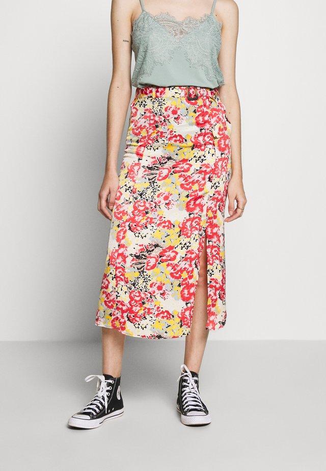 JOLLY SKIRT PETIT - A-snit nederdel/ A-formede nederdele - tandori spice/multi colour