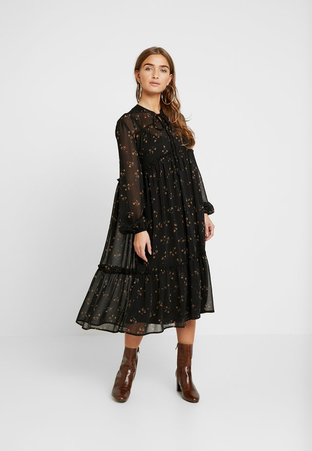 OBJAVINAJA DRESS - Vardagsklänning - black
