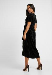 Object Petite - OBJHONEY NOREENA DRESS - Maxi šaty - black - 3